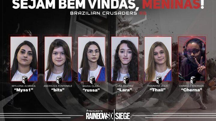 Definidas as seis equipes brasileiras que estarão no torneio de Rainbow Six no DreamHack Rio 2019